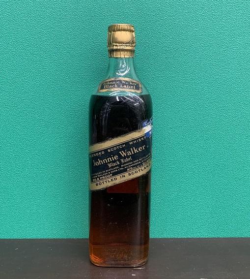 ジョニーウォーカー 黒ラベル ティンキャップボトル